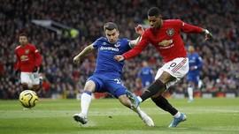 Hasil Liga Inggris: MU Diimbangi Everton di Old Trafford
