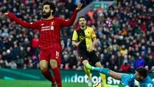 FOTO: Kaki Kanan Mohamed Salah 'Sakti', Liverpool Menang