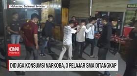 VIDEO: BNN Geledah Tempat Hiburan Malam, 3 Pelajar Ditangkap