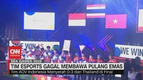 VIDEO: Tim Esports Gagal Membawa Pulang Emas