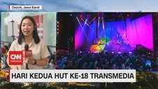 VIDEO: Antusias Warga di Hari Kedua HUT ke-18 Transmedia