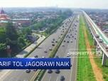 Waduh Tarif Tol Jagorawi Naik
