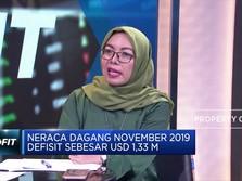 Ekonom: Defisit Neraca Dagang 2019 Turun dibanding 2018