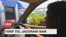 VIDEO: Tarif Tol Jagorawi Naik