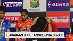 VIDEO: Kejuaraan Bulu Tangkis Asia Junior