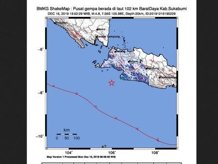 Perintah Jokowi Untuk Bmkg Potensi Gempa Megathrust M 8 0