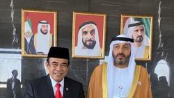 Kunker ke UEA, Menag Fachrul Bahas Pertukaran Imam hingga Moderasi Islam
