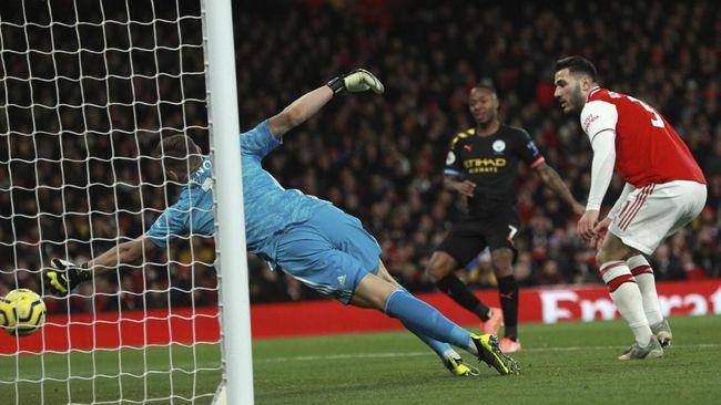 Hasil Liga Inggris: Man City Bungkam Arsenal 3-0