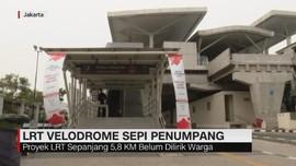 VIDEO: Stasiun LRT Velodrome Sepi Penumpang