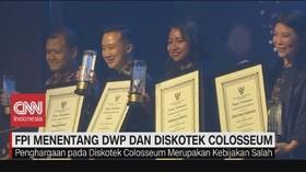 VIDEO: FPI Menentang DWP & Penghargaan Diskotek