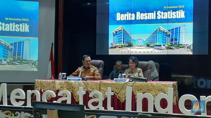 Badan Pusat Statitstik (BPS) merilis data neraca perdagangan Indonesia pada November 2019.
