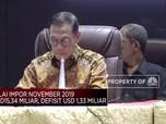 BPS: Defisit Neraca Dagang November Capai USD 1,33 M