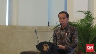 Resmikan Bendung Kamijoro, Jokowi Ingin Petani Kian Sejahtera