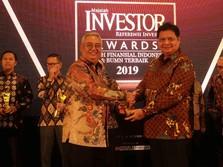 Bos TUGU Raih Top Executive of Insurance Company 2019