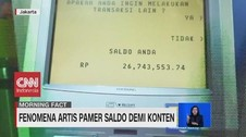 VIDEO: Fenomena Artis Pamer Saldo Demi Konten