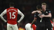 6 Fakta Menarik Kemenangan Man City atas Arsenal