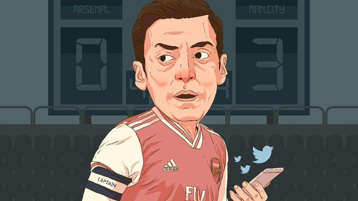 Infografis: Mesut Oezil, Buah Simalakama Buat Arsenal