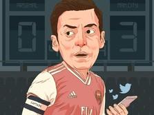 Kala Mesut Ozil Jadi Buah Simalakama Bagi Arsenal