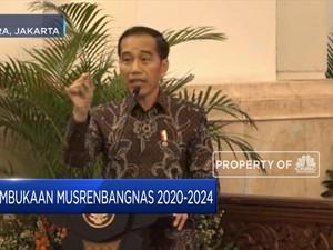 Di Musrenbangnas, Jokowi Pastikan Kelanjutan Infrastruktur