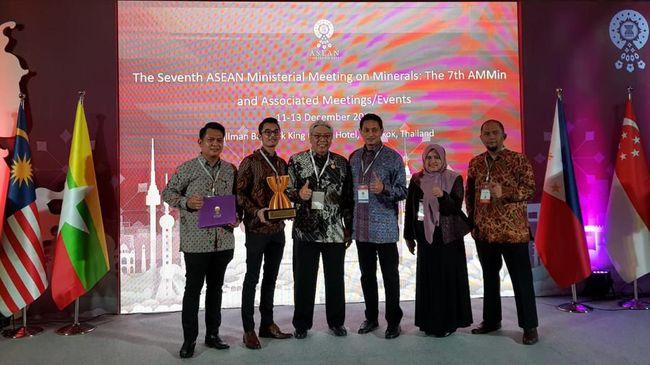 Antam Raih Penghargaan di ASEAN Mineral Award 2019 Thailand