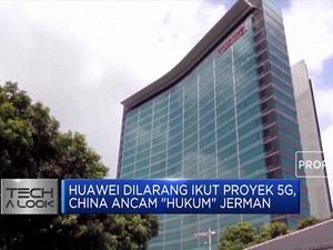 Huawei Dilarang Ikut Proyek 5G, China Ancam
