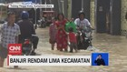 VIDEO: Banjir Rendam 5 Kecamatan di Sumut