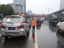 Jakarta Banjir, Tol Dalam Kota Gratis Selama 18 Jam