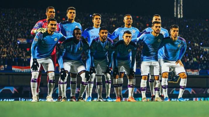 Manchester City,dihukum larangan tampil di kompetisi sepakbola antar-klub Eropa selama dua musim.