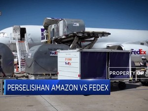 Berseteru dengan Amazon, FedEx Diblokir