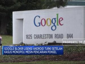 Diberi Sanksi Oleh Turki, Ini Balasan Google
