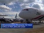Sedihhh.. Boeing Hentikan Produksi 737 Max per Januari