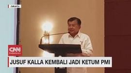 VIDEO: Jusuf Kalla Kembali Jadi Ketum PMI