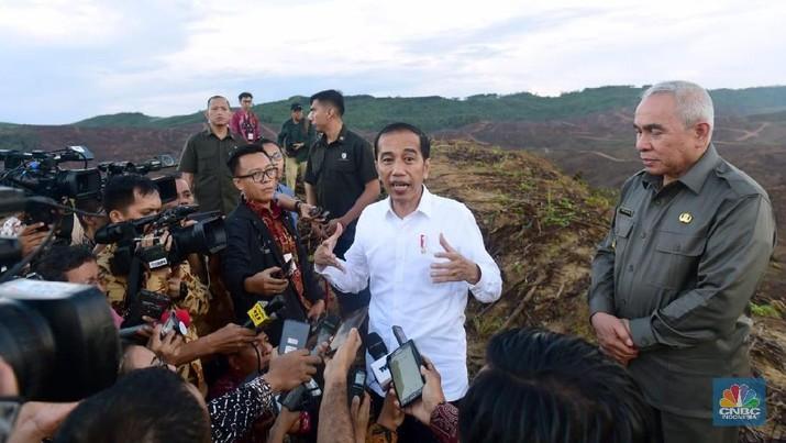 Jokowi bersama sejumlah jajaran Kabinet Indonesia Maju akan kembali melanjutkan kunjungan kerja.