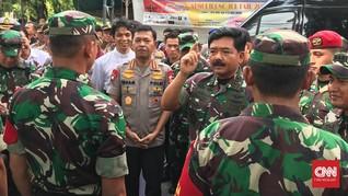 Panglima TNI Tinjau Gardu PLN Pascabanjir Jakarta