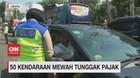 VIDEO: Terjaring Razia, 50 Kendaraan Mewah Tunggak Pajak
