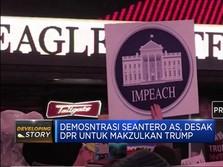 Demonstrasi Seantero AS, Dukung Pemakzulan Trump