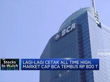 Mantap! Kapitalisasi Pasar BCA Tembus Rp 800 T