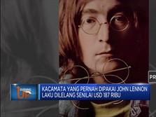 Mantap! Kacamata John Lennon Dilelang Laku Rp 2,6 Miliar