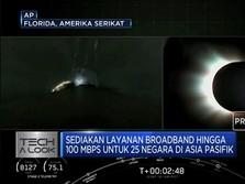 SpaceX Luncurkan Satelit Penyebar Internet Daerah Terpencil