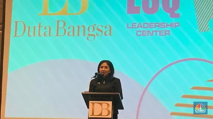 Anita Tanjung memberikan tips kepada milenial agar mampu bersaing di dunia entrepreneurship