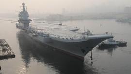 Kapal Induk Baru China Berlayar di Selat Taiwan, Taipei Siaga