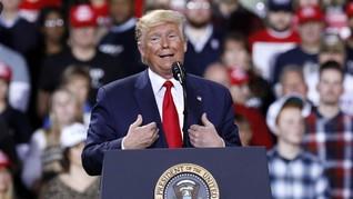 Trump Bela Diri Soal Pemecatan Perwira Saksi Pemakzulan