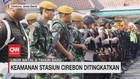 VIDEO: Jelang Natalru, Keamanan Stasiun Cirebon Ditingkatkan