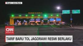 VIDEO: Tarif Tol Jagorawi Resmi berlaku