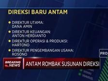 Gelar RUPSLB, Ini Hasil Perombakan Direksi ANTAM