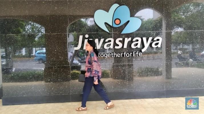 Jiwasraya. (CNBC Indonesia/Muhammad Sabki)
