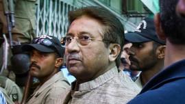 Sambil Terbaring, Musharraf Sebut Vonis Mati Berbau Dendam