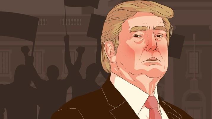 DPR AS dinilai tidak serius dengan upaya pemakzulan Presiden Donald Trump