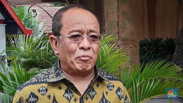 Said Didu. (CNBC Indonesia/Efrem Siregar)