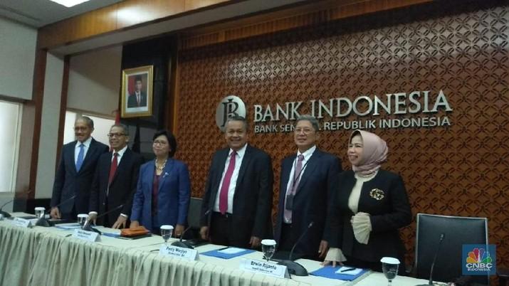 Rapat Dewan Gubernur (RDG) Bank Indonesia (BI) diselenggarakan pada 18-19 Desember 2019.